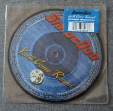 Status Quo, you'll come round / Lucinda, SP - 45 tours Picture disc