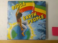 Bigga-Earth People Vinyl LP 1988 ROOTS REGGAE