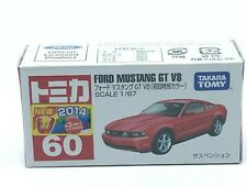 Tomica #60 FORD MUSTANG GT V8 1/67 SCALE Takara Tomy Toy Vehicle Discontinued