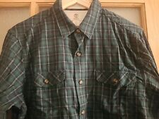 Timberland Mens Regular Fit Long Sleeve Gingham Casual Shirt RRP £65 Size Small