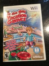 CRUISE SHIP VACATION GAMES NINTENDO Wii Brand New Factory Sealed