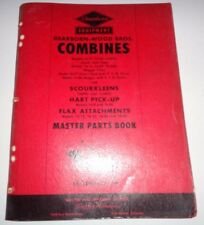 Ford Dearborn Wood Bros. Combine Parts Catalog Manual (Models 16-13 to 16-38)