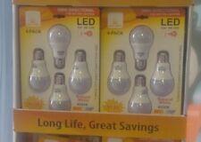 40 LED Bulbs 9w=60W LED Bulbs  4000K Natural White 806 Lumens  UL Listed A19-E26