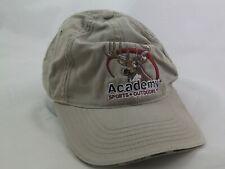 09c9b8bb Academy Sports Outdoors Buck Deer Hat Beige Hook Loop Baseball Cap