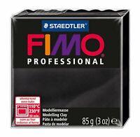 Staedtler - Fimo Professional - Pain Pâte à  Modeler 85 g Noir