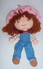 "Strawberry Shortcake 10"" Rag Doll (92080) - 2005 Ban Dai Creation"