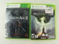 LOT of 2 Games:  Dragon Age II and Inquisition, Microsoft Xbox 360