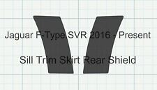 Jaguar F-Type SVR Sill skirt trim cover CARBON Stone Chip Paint Protection Film