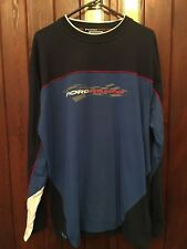 FORD RACING LONG SLEEVE TOP BLUE SIZE LARGE