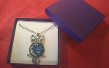 "~NEW IN BOX~ OWL NECKLACE - GIFT ""I LOVE YOU TO THE MOON AND BACK"" - SO PRETTY!"