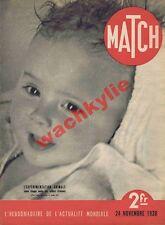 Match n°21 24/11/1938 Chaplin Godard CGT Jouhaux fous Dun-sur-Auron vivisection