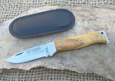 Navaja CUDEMAN MT-9 Hoja 7 cm. Acero Mova, Olivo Caza Knive Coltello Couteau