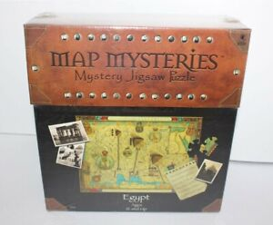 Map Mysteries Mystery Jigsaw Puzzle Egypt 1000 Pieces Brand New & Sealed 2001
