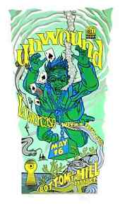 Unwound Concert Poster 1996 Chuck Sperry SF