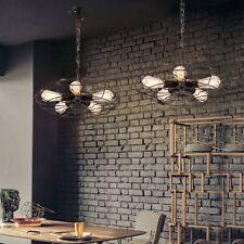 Retro Industrie Fan Kronleuchter Deckenlampen Loft Lampe Leuchte Haus Deko