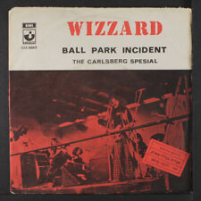 """WIZZARD: Ball Park Incident / The Carlsberg Special 45 (Israel, PS, 4"""" top sea"""