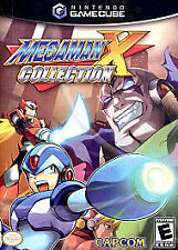 Mega Man X Collection (Nintendo GameCube, 2006) GAME CUBE AND BOX NES HQ