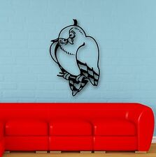 Wall Stickers Vinyl Decal Owl Bird Children's Room Great Room Decor (ig608)