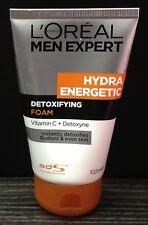 100mL LOREAL MEN EXPERT HYDRA ENERGETIC Foam Vit C Anti ACNE Face Wash Treatment