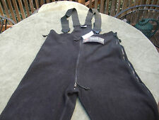 New with tag USMC Polartec Fleece Overalls USGI ECWCS size Large Short/Regular