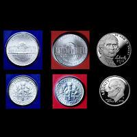 2012 P+D+S Jefferson Nickel & Roosevelt Dime Set ~ Proofs & PD in Mint Wrap