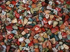 Gemstone Chips 1kg Earth Tones Mix Bulk Pack 4000pc Beads Jewelry FREE POSTAGE