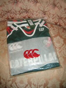 Leicester Tigers Rugby Shirt XL - Home - Canterbury - New with tags