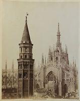 Milan Torre Di S.Gottardo Italia Vintage Ca 1880