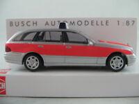 """Busch 49451 Mercedes-Benz E-Klasse T-Modell (2003) """"NOTARZT"""" 1:87/H0 NEU/OVP"""