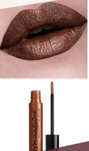 NYX Liquid Suede Deep Metallic Bronze Matte Lipstick LSCL31 NEW ERA Brown Nude