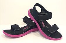 TEVA KIDS TIDEPOOL SPORTS WATER SANDALS BLACK PINK YOUTH US SIZE 6 -NIB