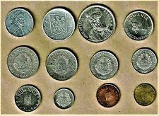 New listing Romania. 12 coin lot w/ 1,000/500/100/10/1 Lei thru 1 Bani select coins