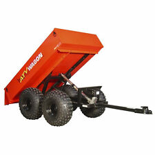 ATV Wagon 22 Cubic Foot Tandem Axle Steel Dump Trailer