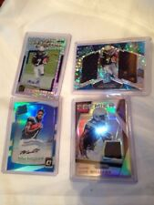 MIKE WILLIAMS 4 CARD LOT AUTO PATCH ELITE SPECTRA OPTIC PRIZM ROOKIE Refracters