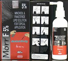 2 x Morr-F 5% Hair Regrowth FDA Approved DHT Blocker Treatment (60 ml)
