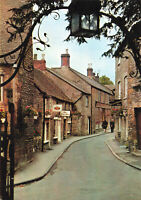 Rare Scenic Postcard Stow-on-the-wold, Church Street, England Unposted 1972.