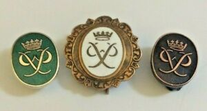 GOLD, SILVER AND BRONZE DUKE OF EDINBURGH AWARD BADGES.
