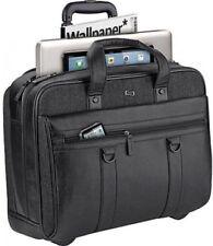 "(1683)Solo Bradford 17.3"" Laptop Rolling Briefcase, Computer Bag"