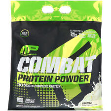 MUSCLEPHARM COMBAT PROTEIN POWDER - 3.6kg (8lbs) ISOLATE CONCENTRATE - VANILLA