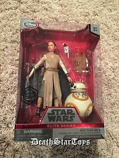 Star Wars Force Awakens Die Cast Elite Series Rey BB-8 1st Version No Lightsaber