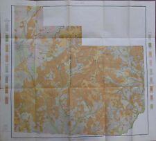 Folded Color Soil Survey Map Bainbridge Georgia Climax Cavalry Attapulgus 1904