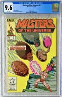 CGC 9.6 MASTERS OF THE UNIVERSE #2 .. HE-MAN .. 1986 ..