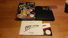 Skate or Die Nintendo NES PAL B CIB OVP BOXED