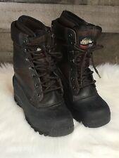Itasca ADVENTURER 657070 Mens Brown Warm Winter Snow Boots Size 7