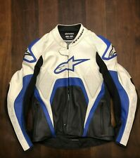 Alpinestars Tech 1-R Motorcyle Road Racing Leather Track Day Jacket US 40 EU 50