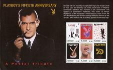 St Vincent & Grenadines 2003 MNH Playboy 50th Anniv Hefner Monroe 6v M/S Stamps