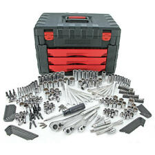 Craftsman 270 pc Mechanics Tool Set with 3-Drawer Chest
