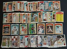 HUGE 1970 + 1971 TO 80's TOPPS BASEBALL CARD LOT (1630) w/ STARS & HOFer POOR RC