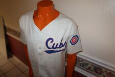 NWT VINTAGE 1988 COLLEGE CONCEPTS CHICAGO CUBS COOPERSTOWN COLLECTION JERSEY L