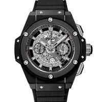 réplica 701.ci.0170.rx Reloj Hublot King Power UNICO Ceramico Negro magia 48mm